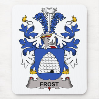 Escudo de la familia de Frost Alfombrilla De Ratones