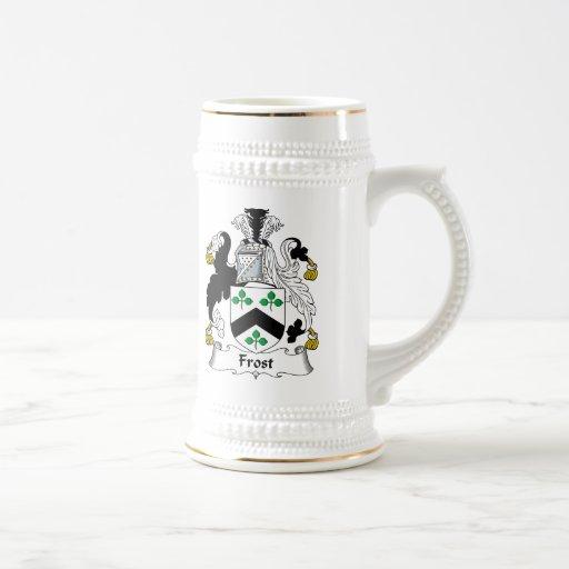 Escudo de la familia de Frost Taza De Café