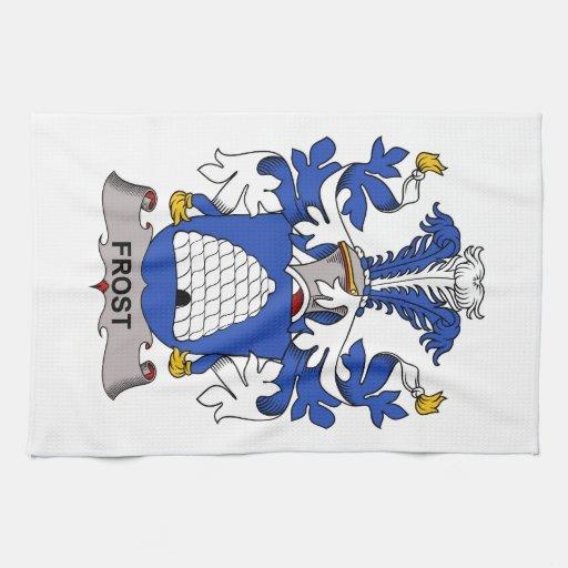 Escudo de la familia de Frost Toalla De Mano