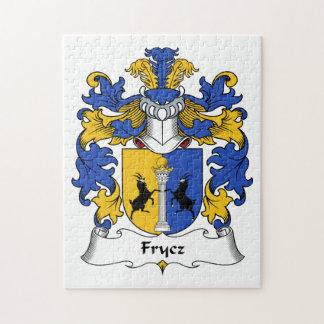 Escudo de la familia de Frycz Puzzles Con Fotos