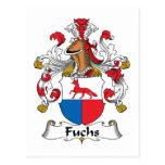 Escudo de la familia de Fuchs Postal