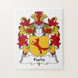 Escudo de la familia de Fuchs Puzzle