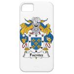 Escudo de la familia de Fuentes iPhone 5 Case-Mate Cobertura