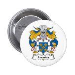 Escudo de la familia de Fuentes Pins