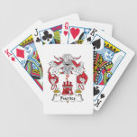 Escudo de la familia de Fuertes Baraja Cartas De Poker