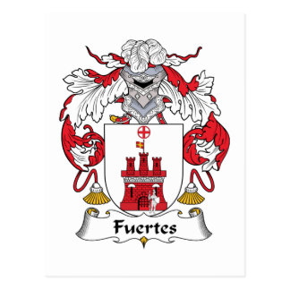 Escudo de la familia de Fuertes Tarjetas Postales