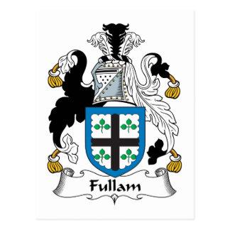 Escudo de la familia de Fullam Postales