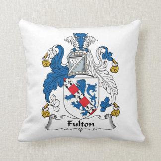 Escudo de la familia de Fulton Almohadas