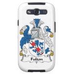 Escudo de la familia de Fulton Samsung Galaxy S3 Carcasas
