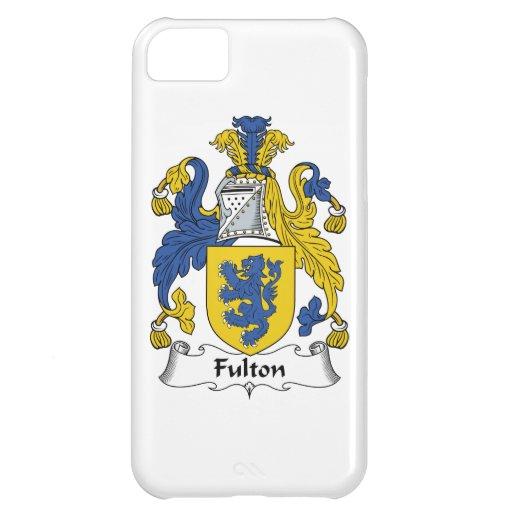 Escudo de la familia de Fulton Funda Para iPhone 5C