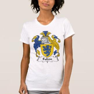 Escudo de la familia de Fulton Playera