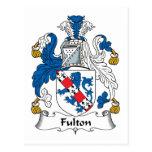 Escudo de la familia de Fulton Postal