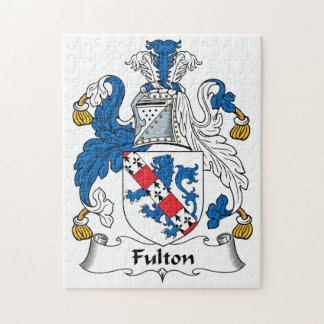 Escudo de la familia de Fulton Puzzles