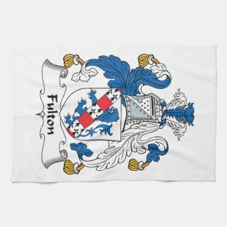 Escudo de la familia de Fulton Toallas