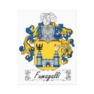 Escudo de la familia de Fumagalli Lienzo Envuelto Para Galerías