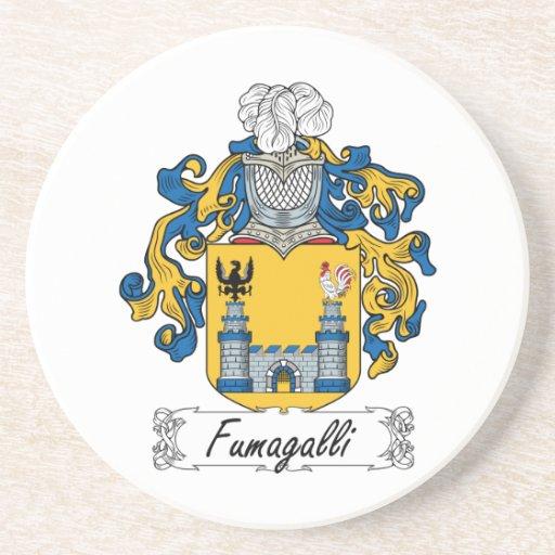Escudo de la familia de Fumagalli Posavasos Personalizados