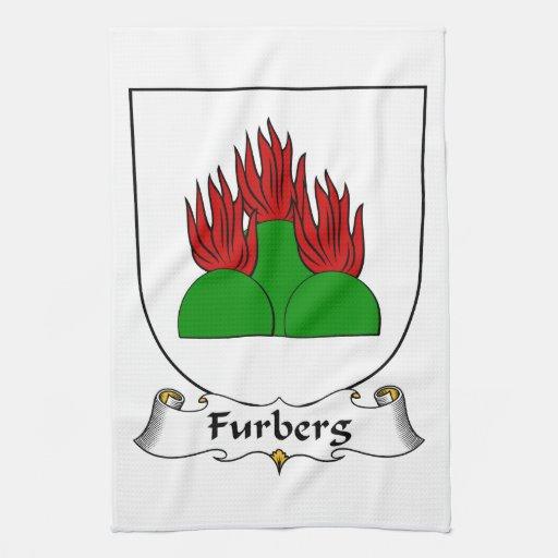 Escudo de la familia de Furberg Toallas