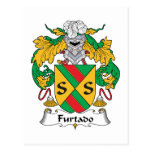 Escudo de la familia de Furtado Postal