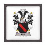 Escudo de la familia de Fux Cajas De Recuerdo De Calidad