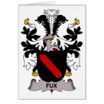 Escudo de la familia de Fux Tarjetón