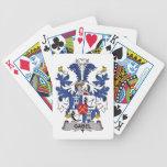 Escudo de la familia de Gabel Baraja Cartas De Poker