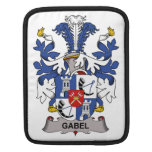 Escudo de la familia de Gabel Funda Para iPads
