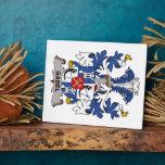 Escudo de la familia de Gabel Placas De Madera