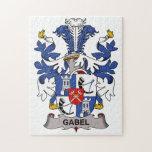 Escudo de la familia de Gabel Puzzle