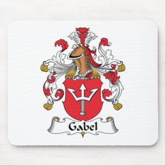 Escudo de la familia de Gabel Alfombrilla De Raton