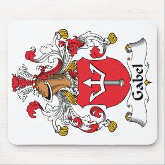 Escudo de la familia de Gabel Mouse Pads