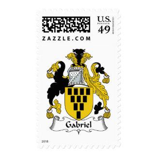 Escudo de la familia de Gabriel Timbres Postales