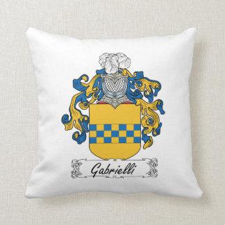 Escudo de la familia de Gabrielli Cojines