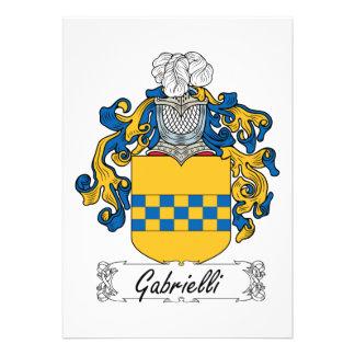 Escudo de la familia de Gabrielli Comunicados