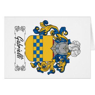 Escudo de la familia de Gabrielli Felicitaciones