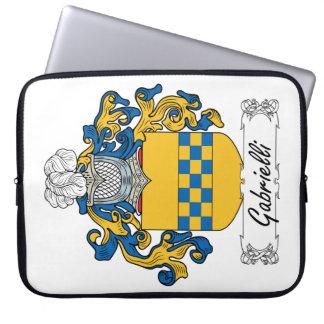 Escudo de la familia de Gabrielli Fundas Computadoras