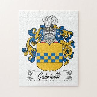 Escudo de la familia de Gabrielli Puzzle