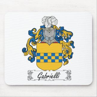 Escudo de la familia de Gabrielli Tapetes De Raton