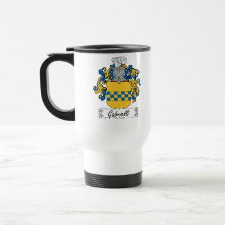 Escudo de la familia de Gabrielli Tazas De Café