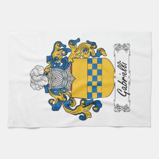 Escudo de la familia de Gabrielli Toalla De Mano