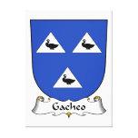Escudo de la familia de Gacheo Impresiones En Lienzo Estiradas