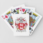 Escudo de la familia de Gachineiro Baraja Cartas De Poker