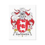 Escudo de la familia de Gachineiro Impresión En Lona Estirada