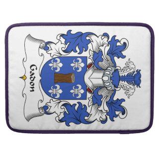 Escudo de la familia de Gadon Fundas Macbook Pro