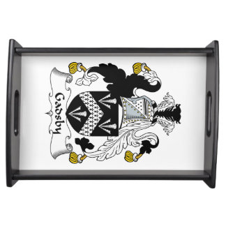 Escudo de la familia de Gadsby Bandeja