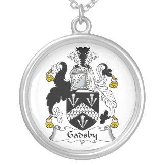 Escudo de la familia de Gadsby Colgante Redondo