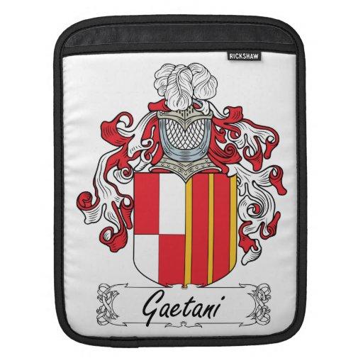 Escudo de la familia de Gaetani Fundas Para iPads