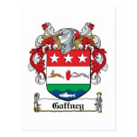 Escudo de la familia de Gaffney Postales
