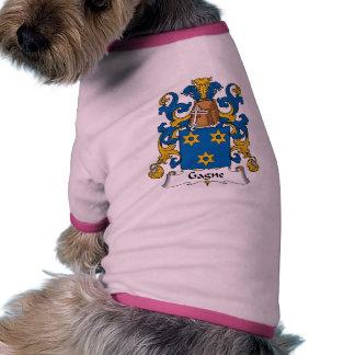 Escudo de la familia de Gagne Camisas De Perritos