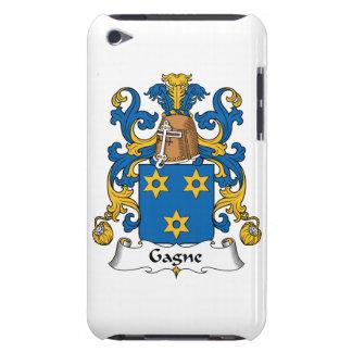 Escudo de la familia de Gagne iPod Touch Case-Mate Protectores