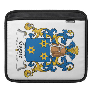 Escudo de la familia de Gagne Mangas De iPad